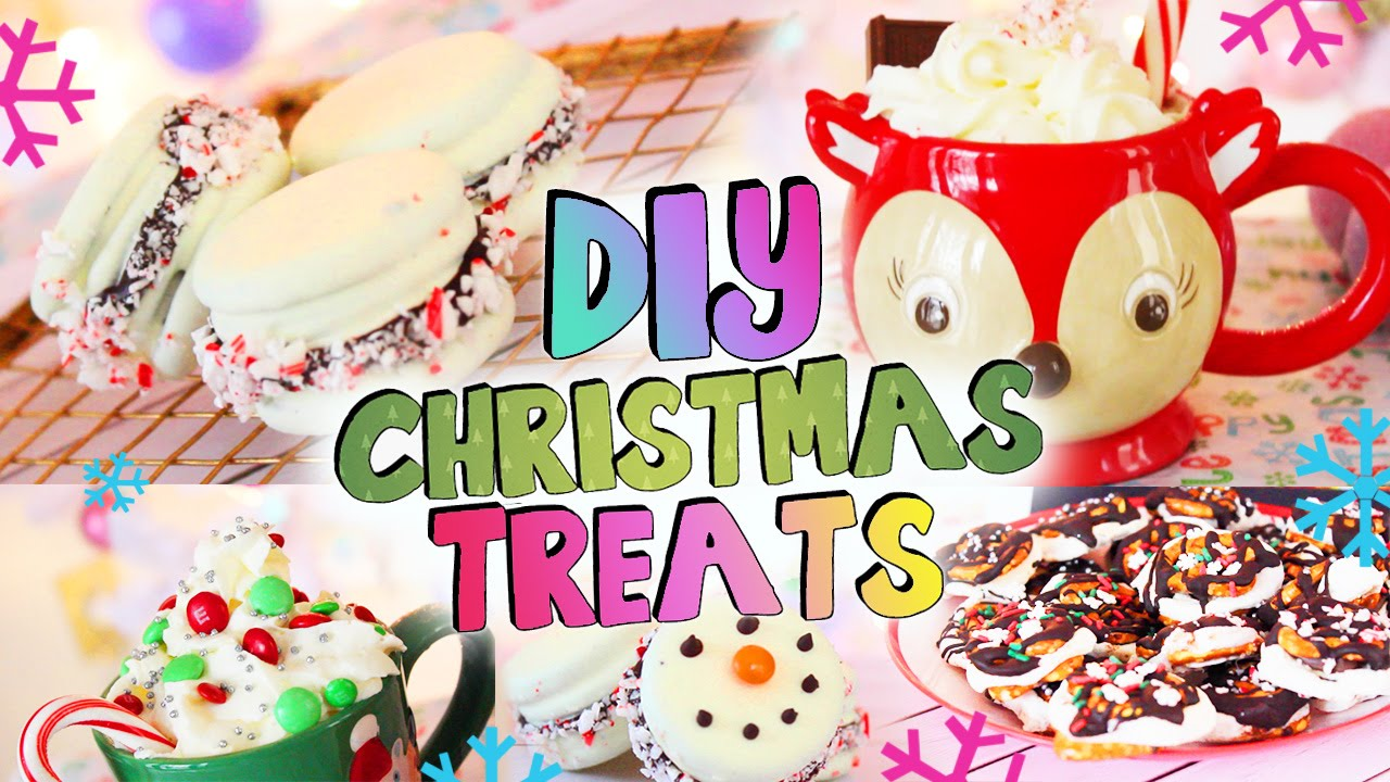 diy holiday treats christmas party desserts and drinks youtube - Christmas Party Desserts