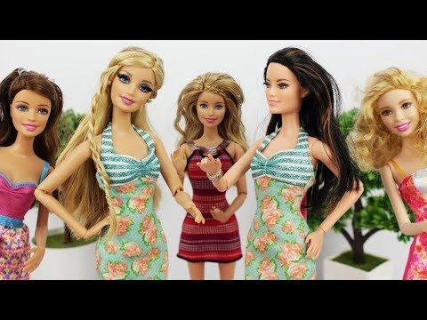 Barbie INVEJOSA e Raquelle é a mais BONITA - Novelinha da Barbie Beatriz em Portugues
