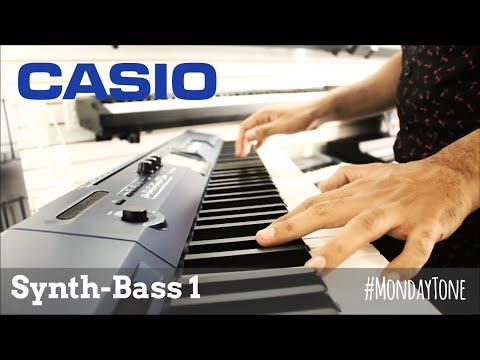Casio Privia PX-560M - Synth-Bass 1 #MondayTone