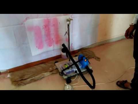 Automatic Wall Painting Robot