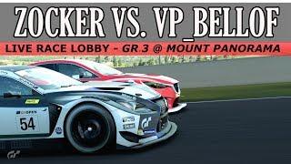 GT Sport - Stunning Race vs. VP_Bellof956 in LRL // GR.3 @ Mount Panorama