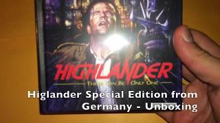Baixar Highlander Blu Ray and DV Boxset from Germany - Unboxing