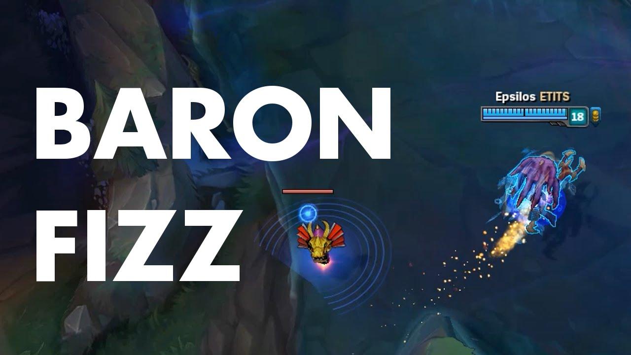 """Cướp Baron phong cách """"chất chơi người dơi"""" như Fizz"""