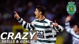 Cristiano Ronaldo   Sporting Lisbon   Skills & Goals   HD
