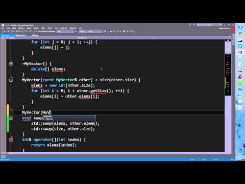 C++11 Tutorials! Episode 2: Rvalue References Part 1 - Move Semantics