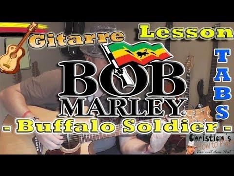 Bob Marley Buffalo Soldier Tabs Chords Akustik Gitarre Lernen
