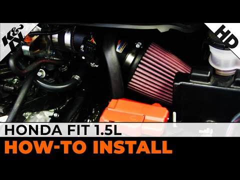 2009 2013 Honda Fit 1 5l Air Intake Installation Youtube