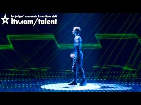 Видео: Razy Gogonea - Britains Got Talent Live Semi-Final - itv.comtalent - UK Version