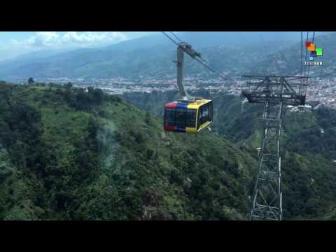 Venezuela Reopens the Cable Car in Merida