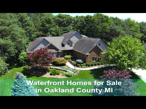 Waterfront Homes for Sale in Oakland County MI - Call Russ at 248-310-6239 - Real Estate in Oakland