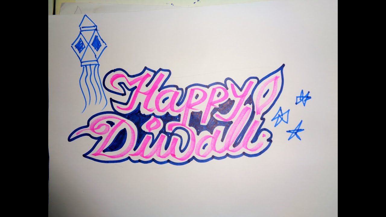 Diwali drawing ideas and coloring pages for kids and adults 2018