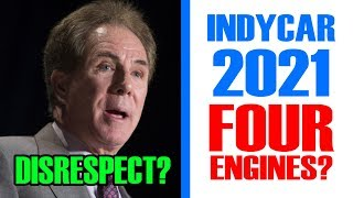FOUR IndyCar Manufacturers in 2021? | The Darrell Waltrip Debate -- This Week in Racing