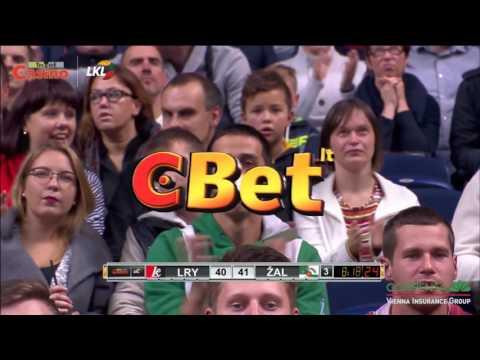 """Rungtynių apžvalga: Vilniaus """"Lietuvos rytas"""" - Kauno """"Žalgiris"""" [2016-10-08] HD"""