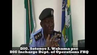 Nigeria Police Force Train the Trainer Course: 2015 General Elections