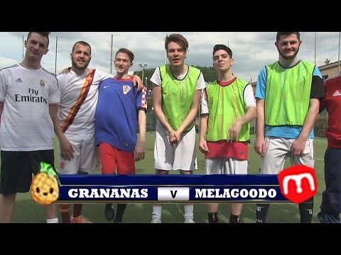GRANANAS VS MELAGOODO | PARTITA DI CALCETTO!
