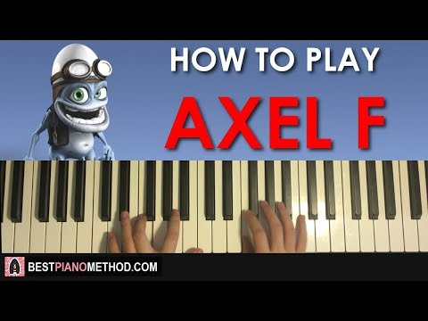 HOW TO PLAY - Crazy Frog - Axel F (Piano Tutorial Lesson)