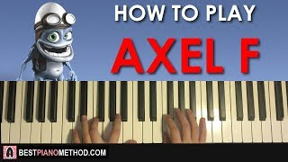 How To Play Crazy Frog - Axel F Piano Tutorial Lesson.mp3