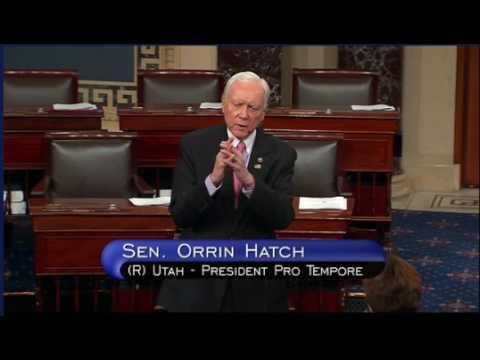 Sen. Hatch Defends Trump - Full Floor Speech