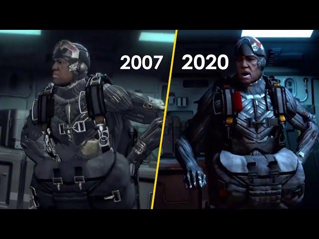 Crysis VS Crysis Remastered Graphics Comparison (Crysis 1 VS Crysis Remastered)