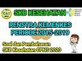 RENSTRA KEMENKES 2015-2019 || Soal dan Pembahasan SKB Kesehatan CPNS 2020