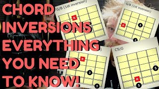 Chord Inversions - Everything You NEED TO KNOW - How To Theory Tutorial
