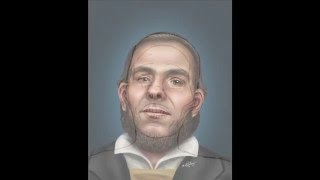 The Face of William Braine (Artistic Reconstruction)