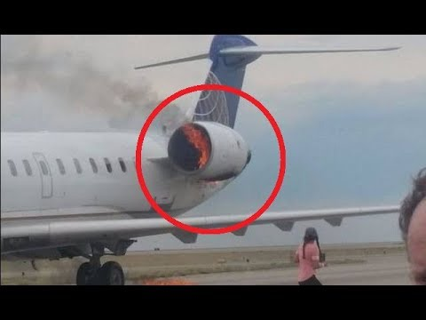 10 SCARY Airplane Incidents - YouTube
