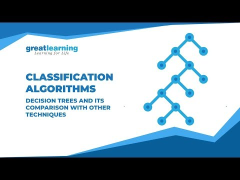 Classification Algorithms: Decision Trees And Its Comparison With Other Techniques | Great Learning