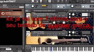 Sample Set Sertanejo 2016 Kontakt 5 Lançamento Com Nova Bateria DW Drums e Bass TRB JP2