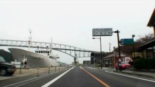 【車載動画】 境港~美保神社