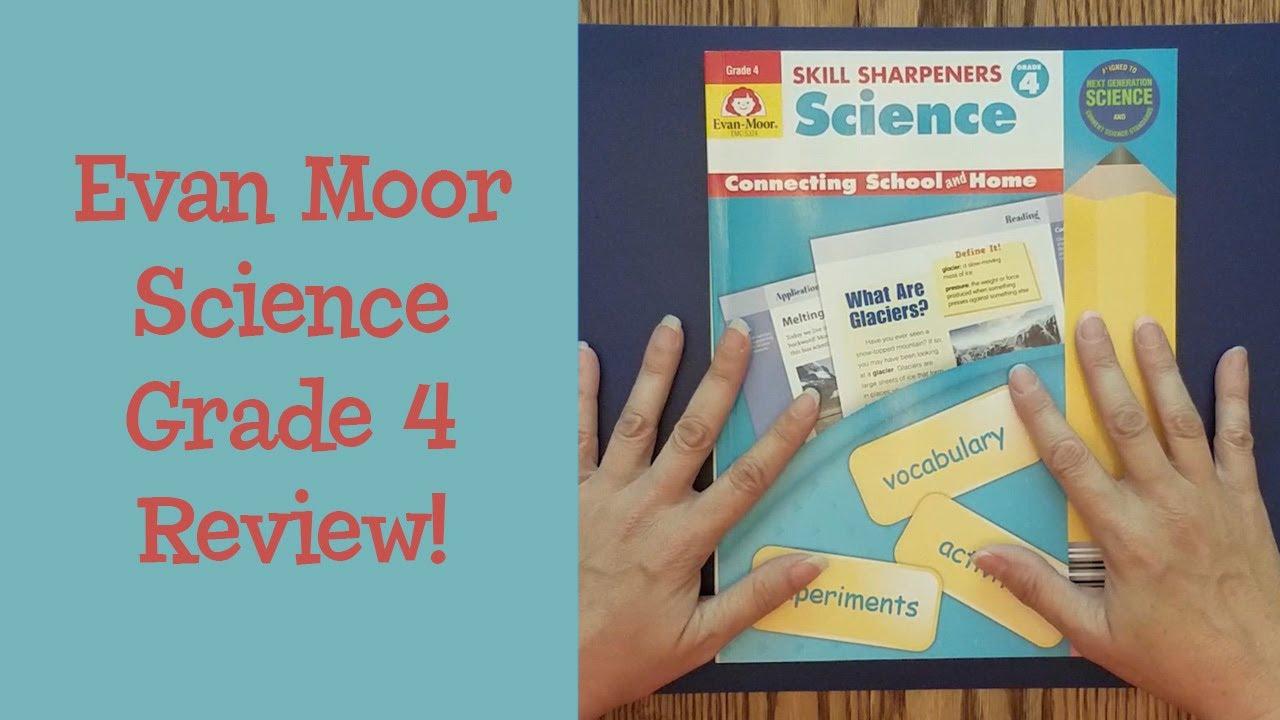 Evan Moor Skill Sharpeners Science Grade 4 Homeschool Curriculum Review