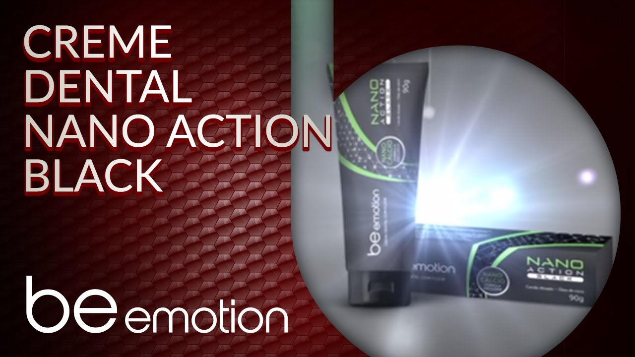 Polishop Com Vc Creme Dental Nano Action Black Be Emotion Youtube