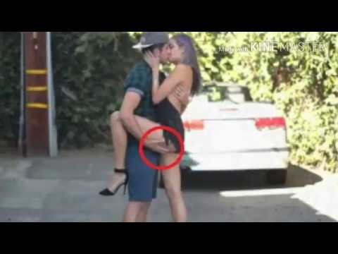 Kissing Prank Gets Sexual