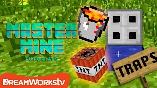 How to Build Traps in Minecraft with Millie Ramsey | MASTER MINE TUTORIALS