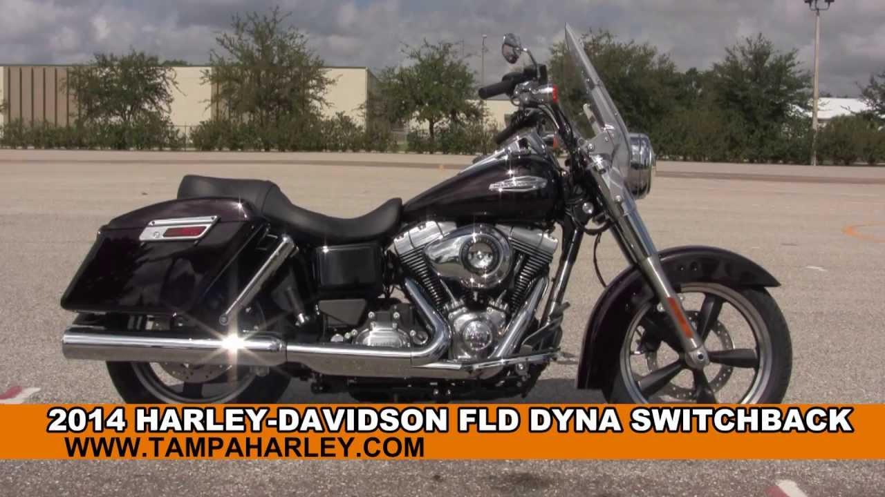 Harley Davidson Colorado Springs >> 2014 Harley Davidson FLD Dyna Switchback New Motorcycle for sale - YouTube