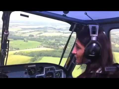 Alka flying Westland Scout