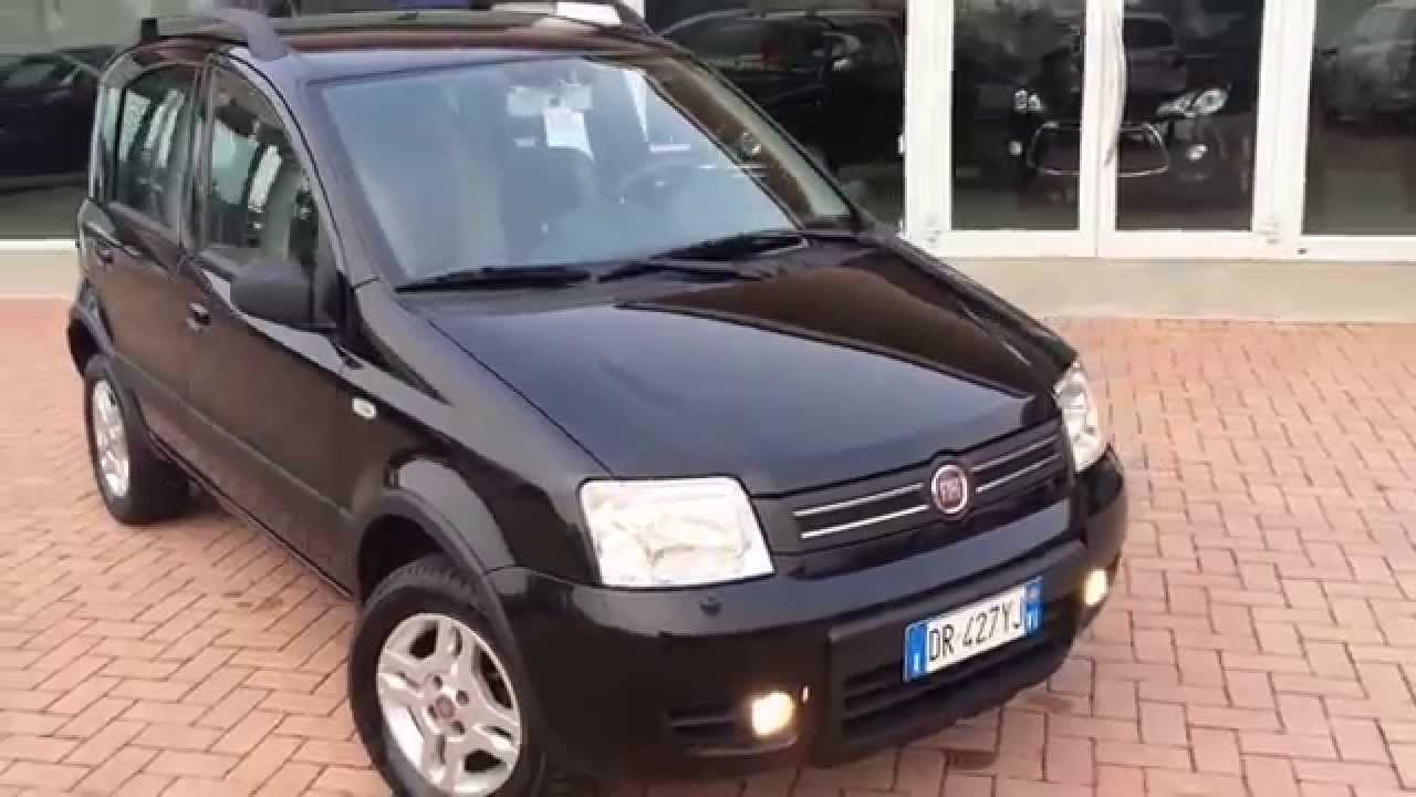 fiat panda 1 2 4x4 integrale climbing 07 2008 youtube. Black Bedroom Furniture Sets. Home Design Ideas