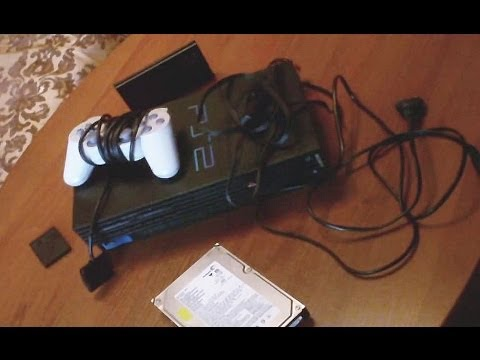 Подключение жесткого диска к PlayStation 2 Fat и запуск образов .