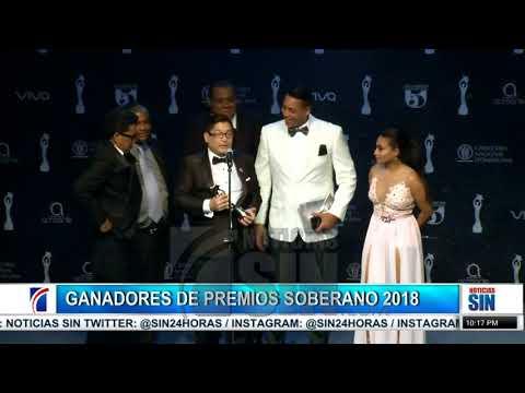 Los ganadores de los premios Soberanos 2018.