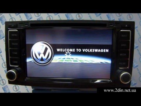 Штатная магнитола для Volkswagen Touareg (2003-2011) и Volkswagen Multivan T5 - Audiosources ANS-710