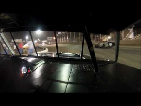 GoPro In-Car Camera with the #22 of Matt Mevert for 2014 TTG 100 Win at Belle-Clair Speedway