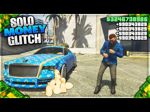 *EASIEST* SOLO GTA 5 MONEY GLITCH EVER (NO REQUIREMENTS) Working GTA 5 Online Money Glitch