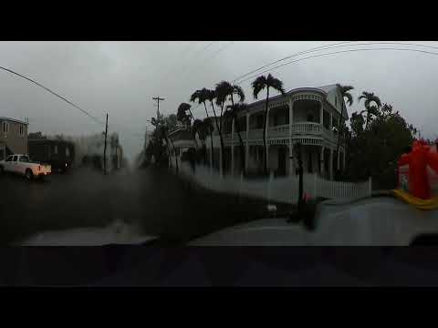 Hurricane Irma from the Florida Keys in 360 degrees