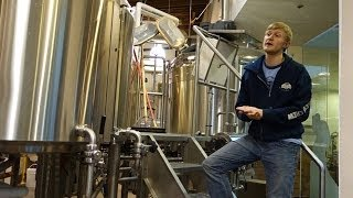 Tour of Granville Island Brewing in 2014 - how does a microbrewery in Vancouver make beer?