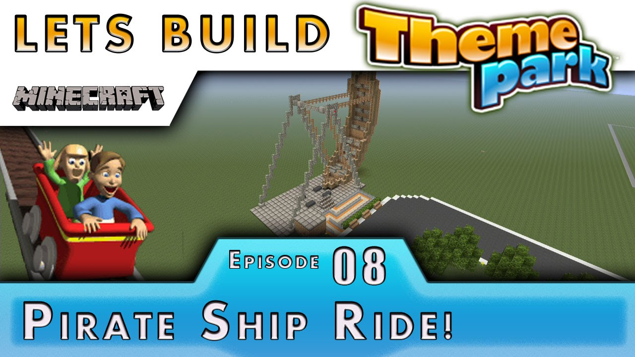 Minecraft How To Build Pirate Ship