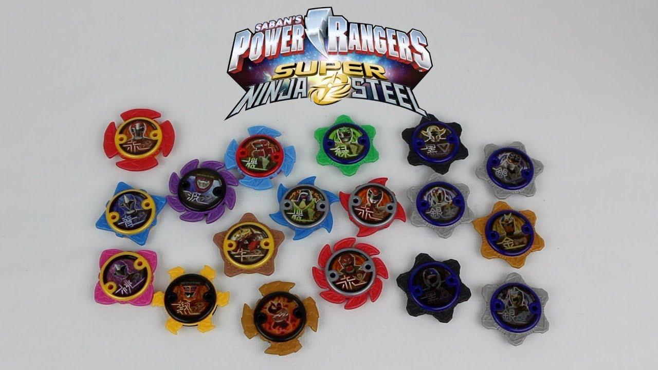 Ninja Power Star Packs Wave 1 Review Power Rangers Super