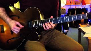 Starlight Interlude - George Barnes (Note for Note Guitar)