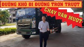 Xe tải ben TMT 8 tấn 2 cầu Euro 4 có đến 2 cầu dầu cực khỏe