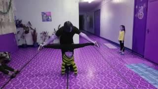 """ТРЕНИРОВКА """"DELTA DANCE"""" ДЕТИ. СТОЙКА НА РУКАХ,ШПАГАТ 18.12.2016"""