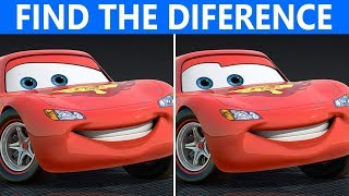 Bet you can't Find The Difference in 30 seconds | Cars 3 Movie Puzzle
